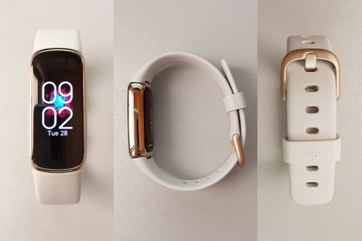Fitbit Luxe different angles