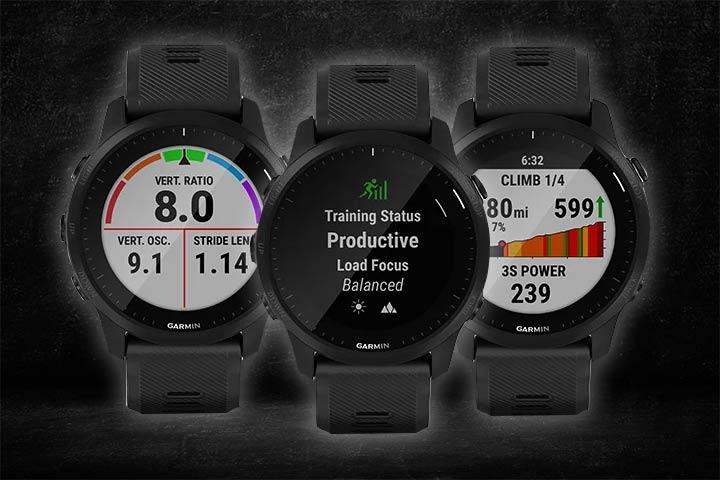 Garmin Forerunner 945 LTE  exercise tracking