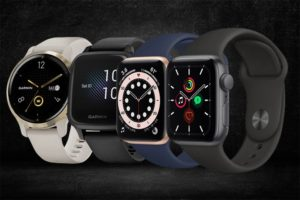 Garmin and Apple watches