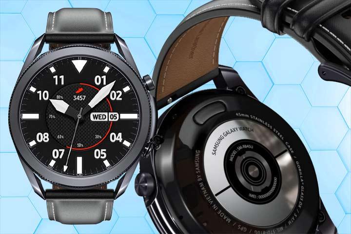 Galaxy watch 3 sensor