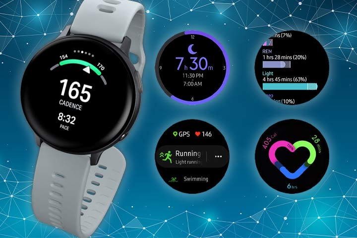 Galaxy Watch Active 2 watch features and activity trackers