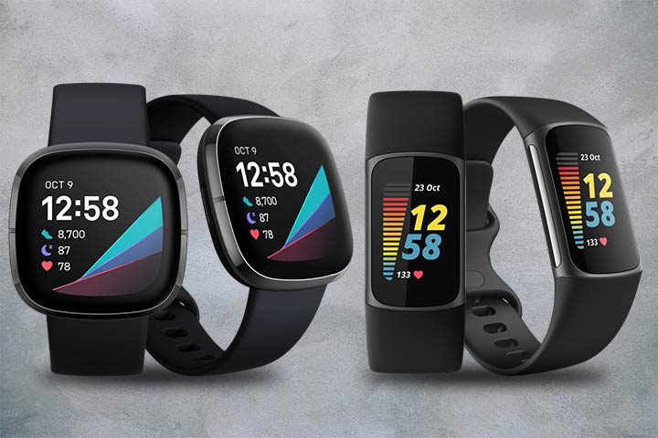 Fitbit Sense and Fitbit charge 5