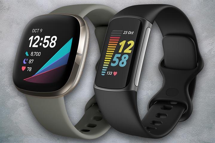 Fitbit Sense vs Fitbit Charge 5