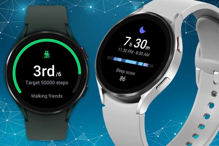 Galaxy watch 4 activity tracker