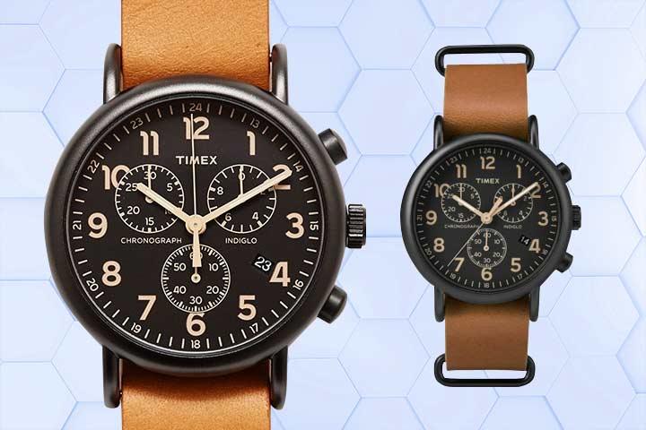 Timex Weekender Chrono Oversize