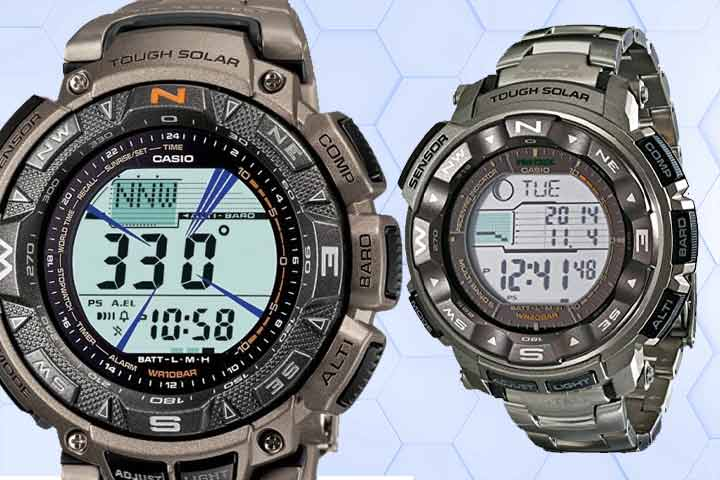 Rugged watches