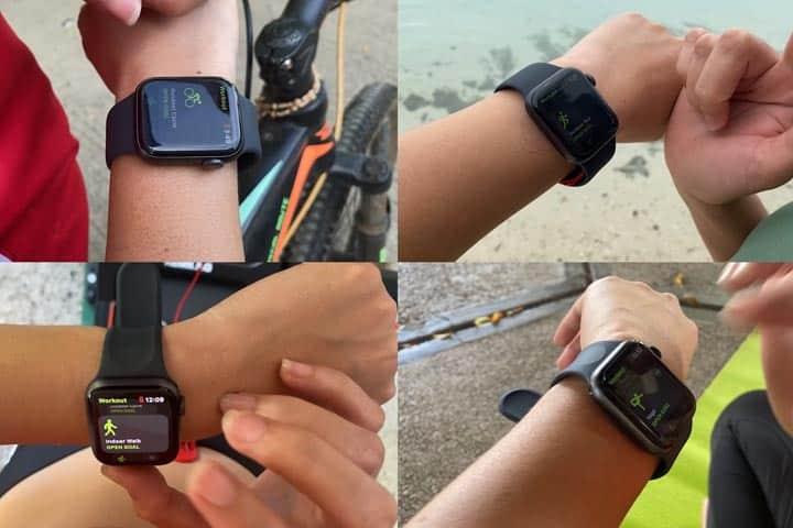 apple watch 6 exercises